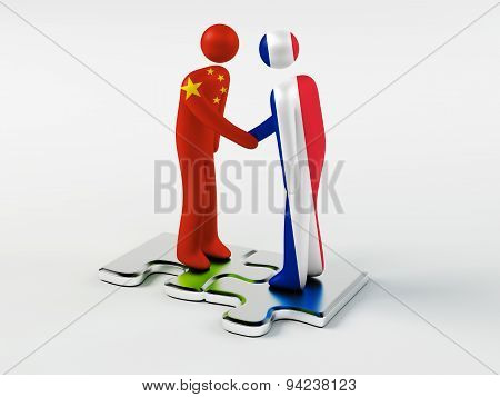 Business Partners China and France