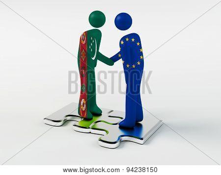 Business Partners Turkmenistan and European Union