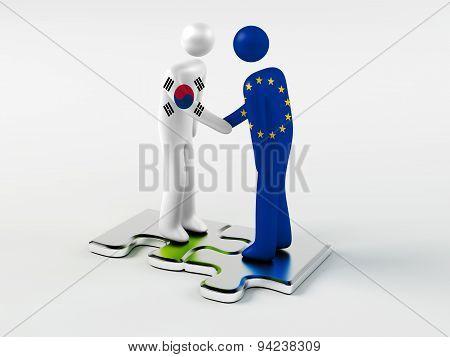 Business Partners South Korea and European Union