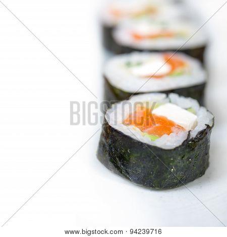 Fresh Sushi Choice Combination Assortment Selection
