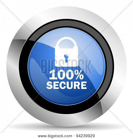 secure icon original modern design for web and mobile app on white background