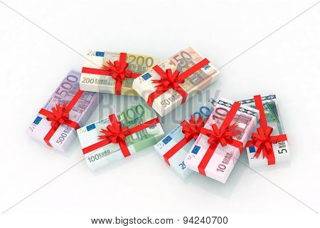 Euro Banknotes Gift