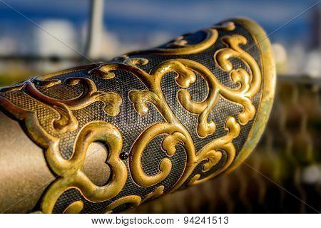 Oriental Railing Cap Design