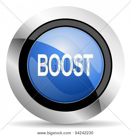 boost icon original modern design for web and mobile app on white background