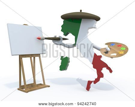 Italian Map Painter