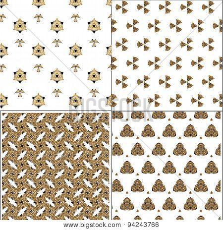 Primitive Simple Retro Pattern