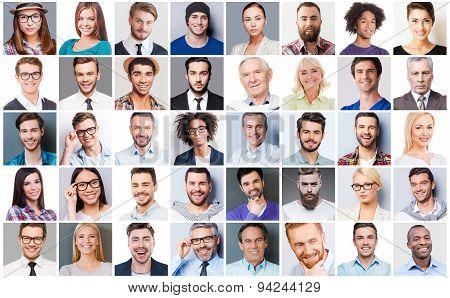 Diverse People.
