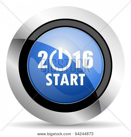 new year 2016 icon new years symbol original modern design for web and mobile app on white background