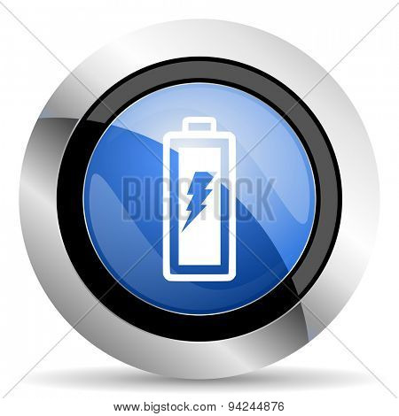 battery icon power sign original modern design for web and mobile app on white background