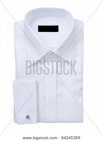 Mens Shirt Isolated  On A White Background