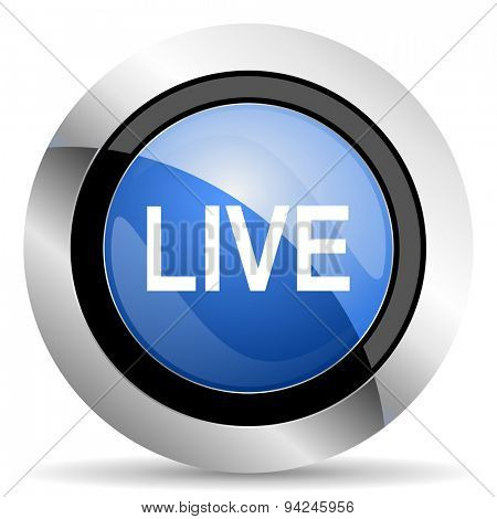 live icon original modern design for web and mobile app on white background