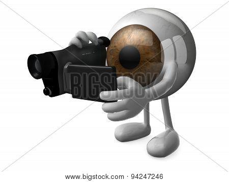 Big Brown Eye Videomaker