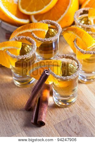 Tequila With Orange