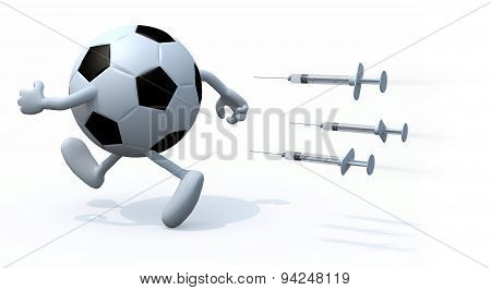Soccer Ball Doping Concepts