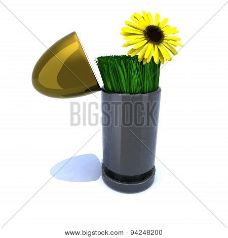 Bullet And Flower