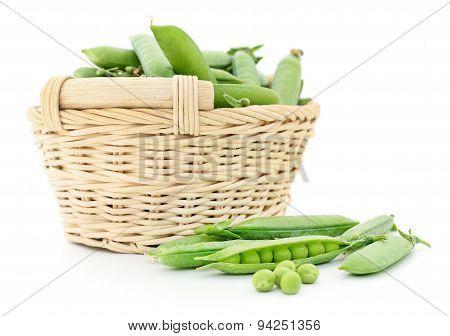 Peas In Basket.