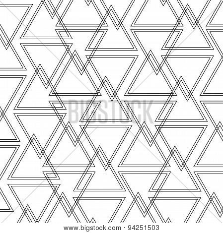 Triangle Outline Pattern