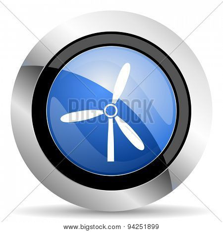 windmill icon renewable energy sign original modern design for web and mobile app on white background