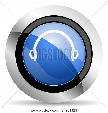 headphones icon  original modern design for web and mobile app on white background