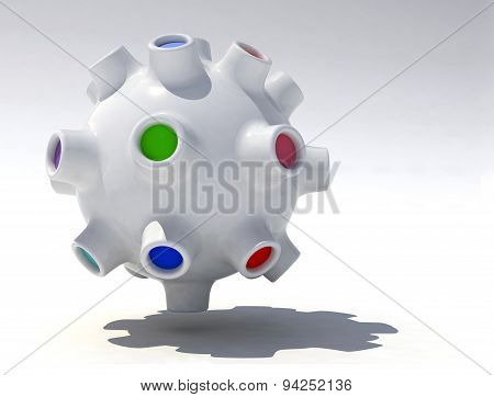 Fantastic Three-dimensional Object