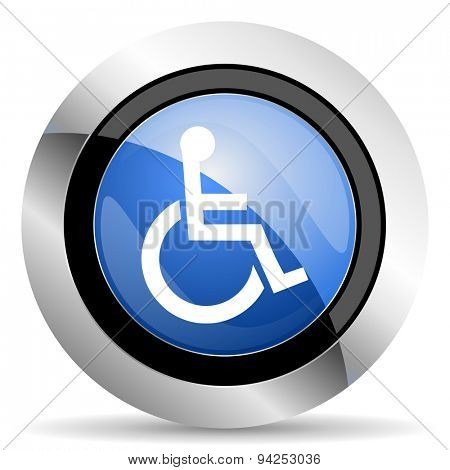 wheelchair icon  original modern design for web and mobile app on white background