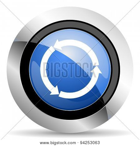 refresh icon reload icon  original modern design for web and mobile app on white background