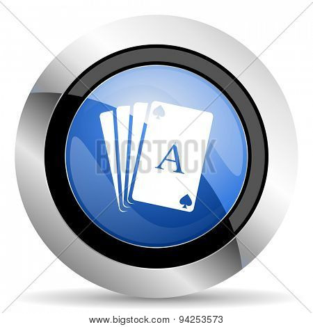 casino icon hazard sign original modern design for web and mobile app on white background