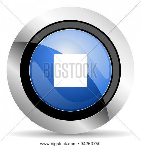 stop icon  original modern design for web and mobile app on white background