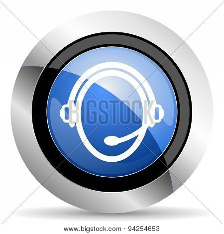 customer service icon  original modern design for web and mobile app on white background