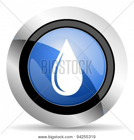 water drop icon  original modern design for web and mobile app on white background
