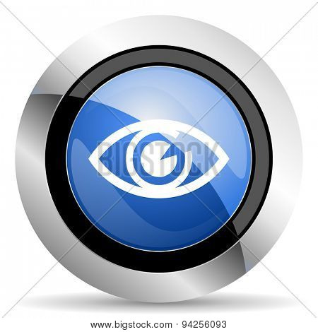 eye icon view sign original modern design for web and mobile app on white background