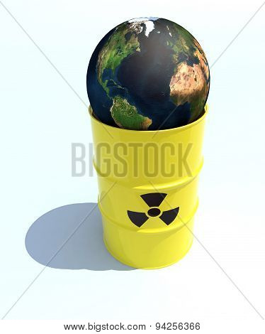 Nuclear World Inside The Bin