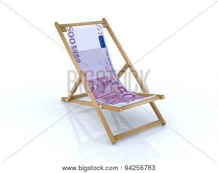 Wood Desk Chair With 500 Euro