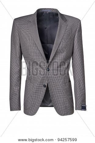Mens Jacket Isolated On White