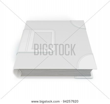 Closed Notebook Isolated