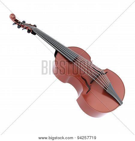Viola D'amore Music Instrument.