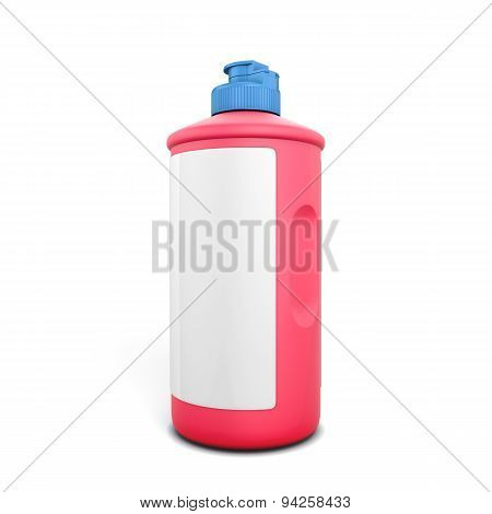 Red Bottle Of Detergent