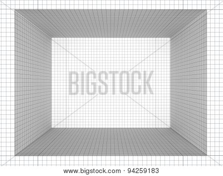 Geometric Composition Quad Room