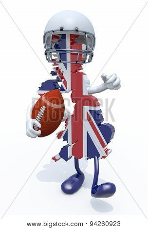 Uk Rugby Sport Concept