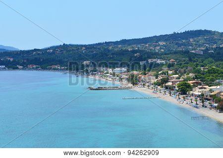 Ipsos Beach Corfu Greece