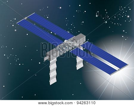 The Satellite in Space