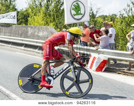 The Cyclist Mate Mardones - Tour De France 2014
