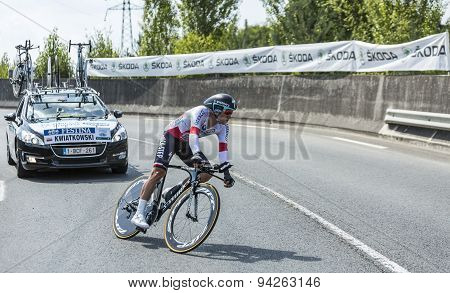 The Cyclist Michal Kwiatkowski - Tour De France 2014