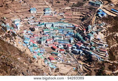 Namche Bazar - Sagarmatha National Park - Khumbu Valley