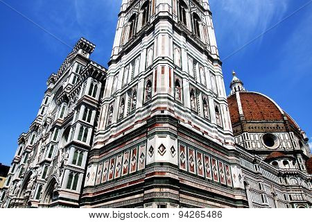 View Of Cathedral Santa Maria Del Fiore In Florence