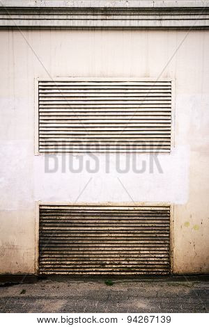 Ventilation On Wall