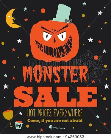 Bright Halloween hot sale card