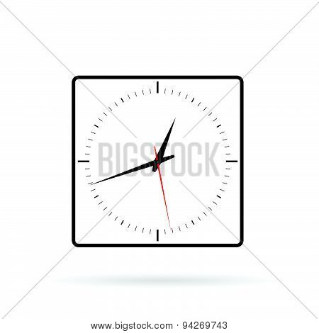 Clock Quadro Vector