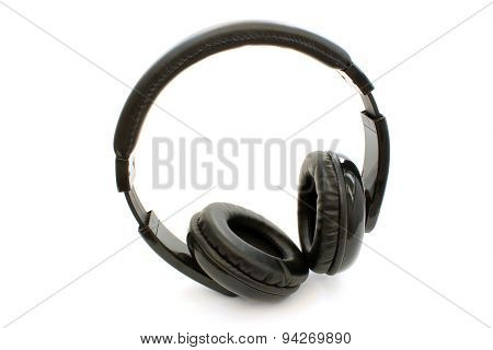 Big Black Headphones