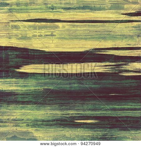 Abstract old background or faded grunge texture. With different color patterns: yellow (beige); gray; blue; green